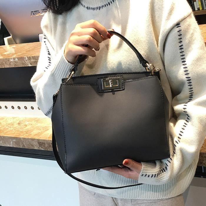 Crossbody Main À Femmes Tote Pure Sac Bag Satchel Mode Color Bandoulière P1znPHR