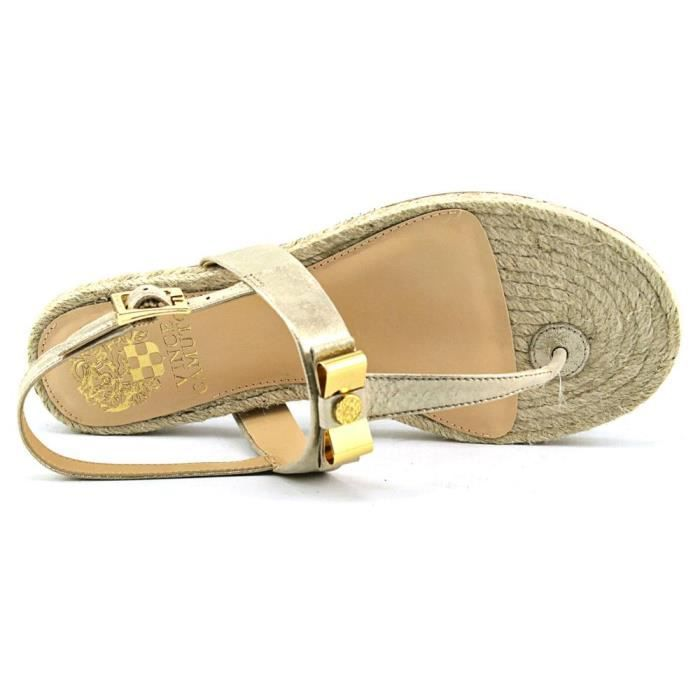 Vince Camuto Arabell Toile Tongs Beige