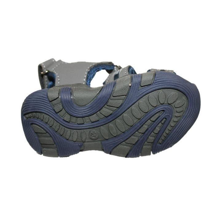 sandales garçon grise garçon nu bleu et sandales et pieds pieds bleu nu grise AIqzwxHF6