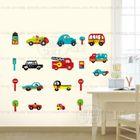 Dessin Animé Enfant Voiture Flotte Vinyle Stickers Muraux Pour Les ...