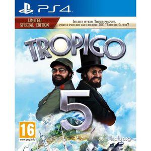 JEU PS4 Tropico 5 First Edition Jeu PS4