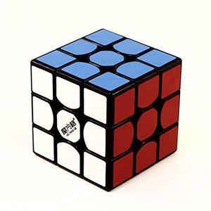 CASSE-TÊTE 3 X 3 Thunderclap Rubiks Cube Noir Avec base et Cu