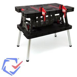 table bricolage pliante achat vente table bricolage pliante pas cher cdiscount. Black Bedroom Furniture Sets. Home Design Ideas