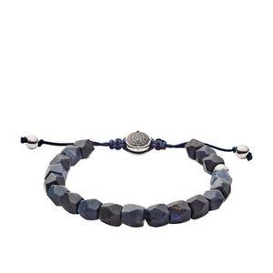 MONTRE Bracelet DIESEL en Acier Bleu et Onyx Noir