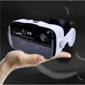 CASQUE RÉALITÉ VIRTUELLE VR avec casque virtuel réalité 3D stéréoscopique V