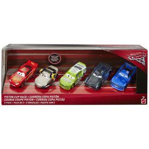 VOITURE ENFANT Piston Cup Race lot de 5 voitures Disney Cars 3