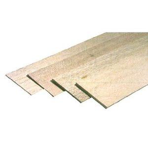 PANNEAU BOIS ALVEOLAIRE 1 Planche de balsa 1000 x 100 x 5 mm
