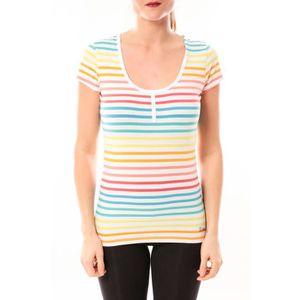 T-SHIRT Little Marcel Tee-shirt Tatoum Multi 318FB Blanc
