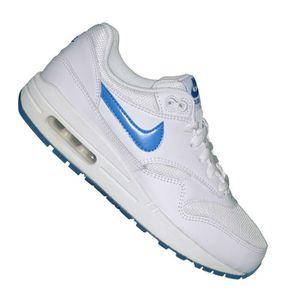 meilleure valeur 8ef42 18a91 Nike - Basket - Femme - Air Max 1 Glow 127 - Blanc Bleu ...