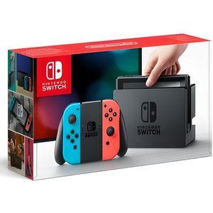 CONSOLE NINTENDO SWITCH Nintendo Switch (import) avec un Joy-Con droit rou
