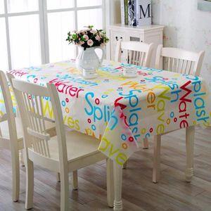 399a2e99f865 NAPPE DE TABLE TEMPSA 130 180cm Nappe de Table en Plastique Proté