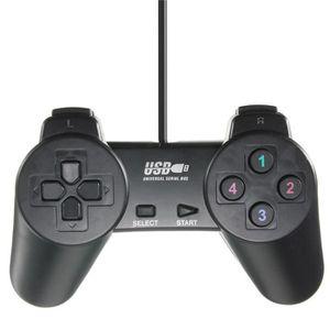 JOYSTICK - MANETTE Manette Gamepad Wired USB 2.0 Poids léger Jeu de J