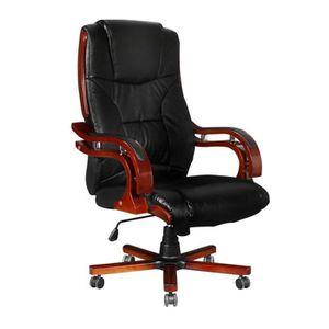 Chaise de bureau pivotante fauteuil direction de massage electrique ... 83e9c526a07e