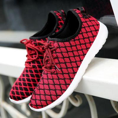 Hommes Designer coin Casual chaussures Casual Male coton respirant maille extérieure de marche de l'airbaskets chaussures TlGTa