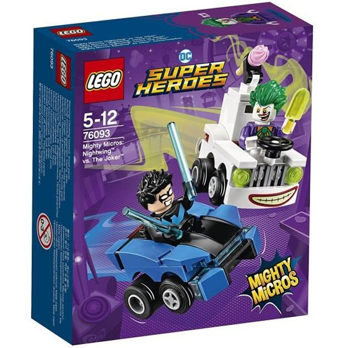LEGO® DC Comics Super Her?s 76093 Mighty Micros : Nightwing? contre Le Joker?
