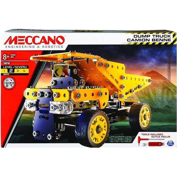 MECCANO - CAMION BENNE - THEME CHANTIER Meccano
