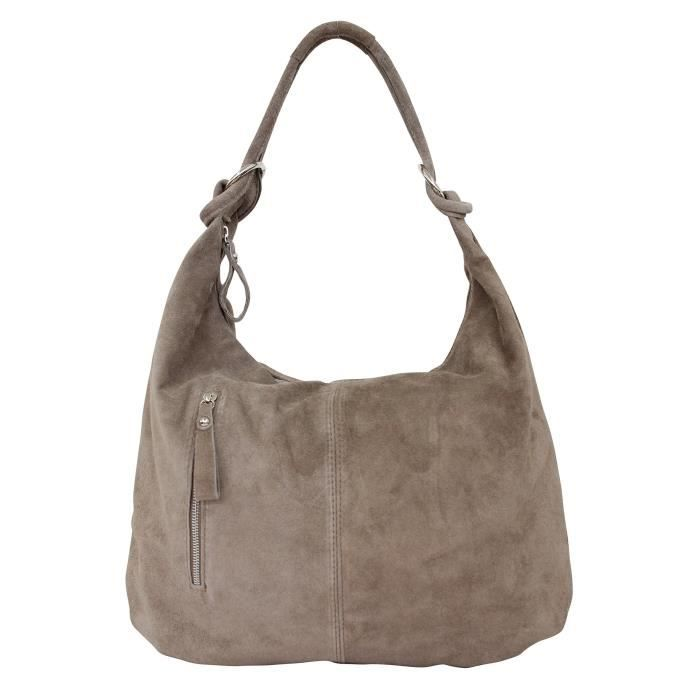 Ambra Moda daim sac à main en cuir hobo sacs sacs daim en cuir sac din a4 wl808 1SYL3H