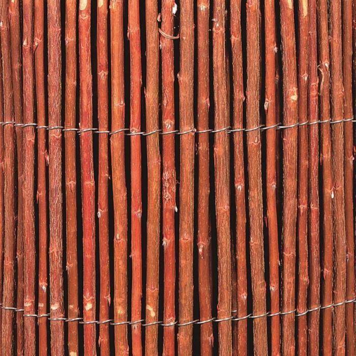 Magnifique Nature Cloture de jardin Osier 10 mm 2 x 3 m 6050175