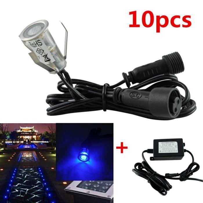 Fvtled 10pcs Set X 19mm 12v Led Lampe Lumiere Eclairage Spot