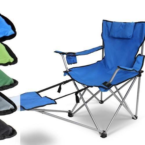 Chaise Repose De Avec Appui Tête Camping Pieds Et Noir Cpst08 6b7ygf