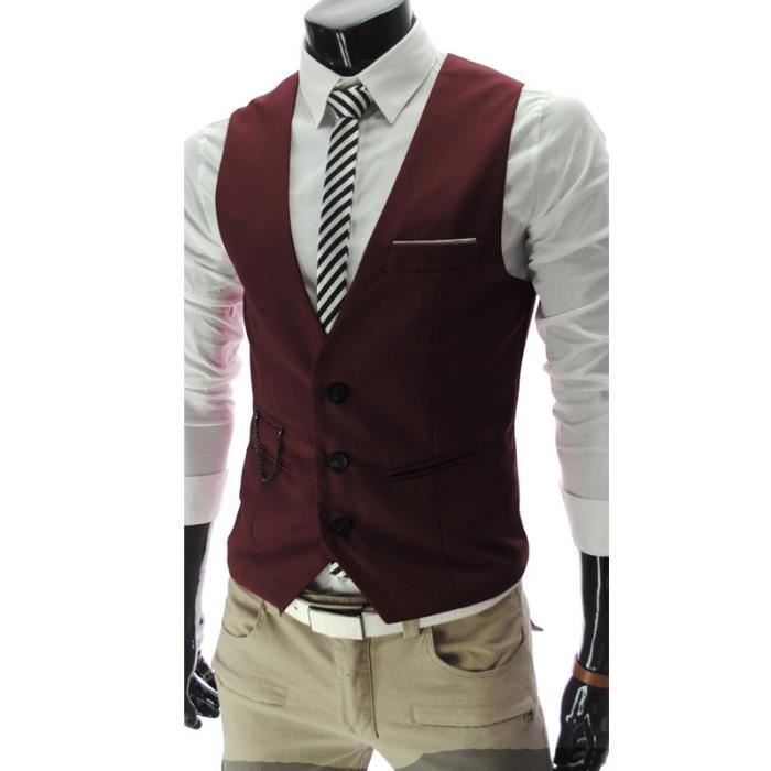on sale ca34f d8ca5 gilet-costume-homme-bouton-vin-rouge-m.jpg