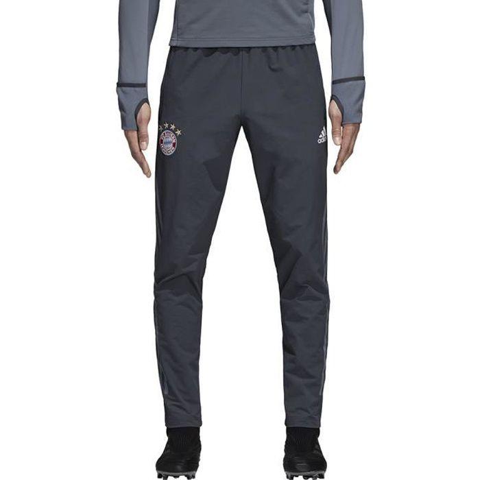 e58a9dd77c1 Pantalon de survêtement Adidas Bayern Munich Training Pant UEFA Champion s  League 18-19 coloris Grey