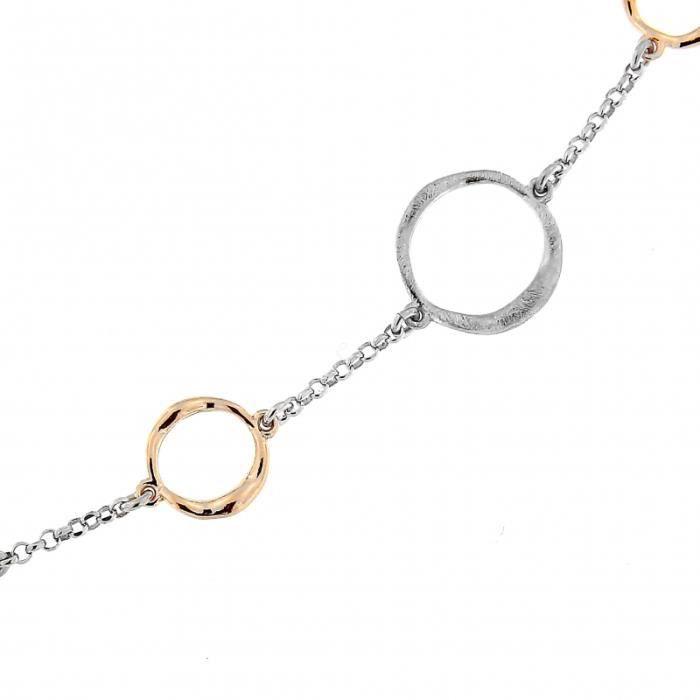 Bracelet Argent 925 ref 45030 Rose