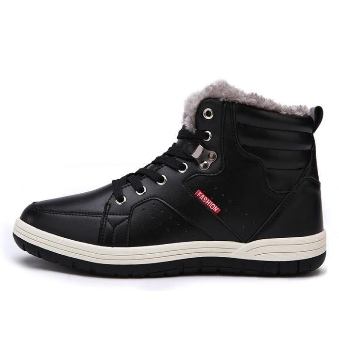Botte Homme Classicsde neige Réchauffez coton coréenne noir taille44