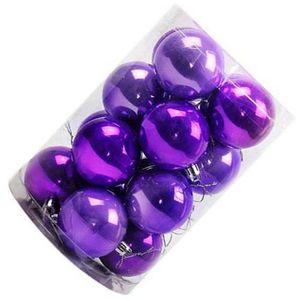 Boule de noel violet - Achat / Vente pas cher