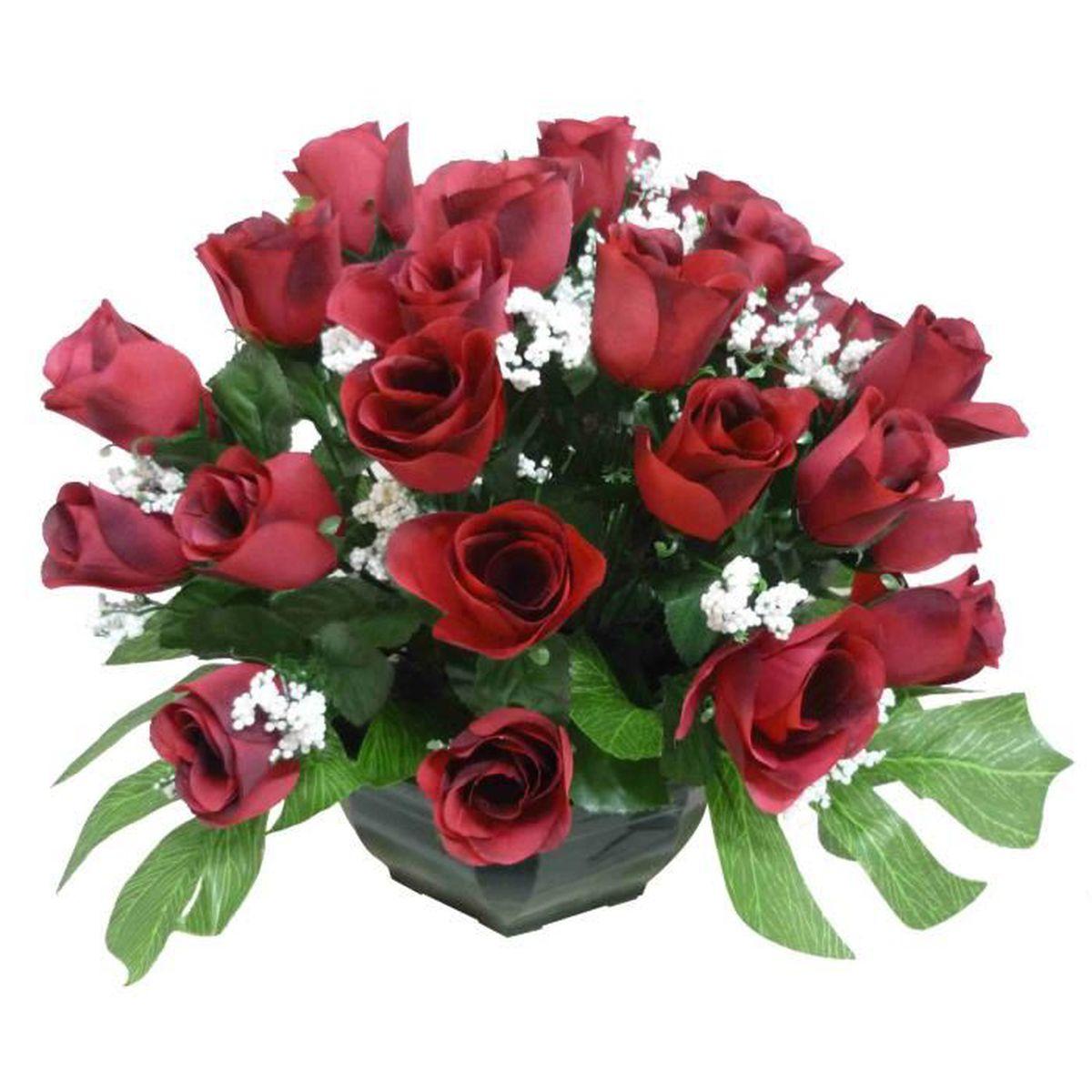 fleur artificielle cimetiere achat vente fleur artificielle cimetiere pas cher black. Black Bedroom Furniture Sets. Home Design Ideas