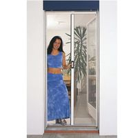 MOUSTIQUAIRE OUVERTURE Porte moustiquaire automatique blanc  Largeur maxi