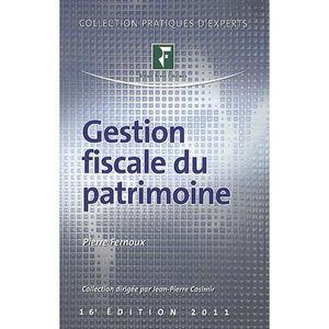 LIVRE DROIT AFFAIRES Gestion fiscale du patrimoine