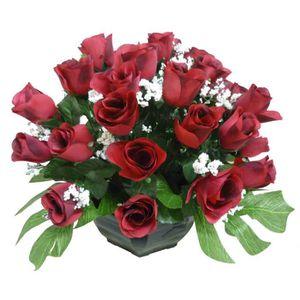 fleur artificielle cimetiere achat vente fleur artificielle cimetiere pas cher soldes d s. Black Bedroom Furniture Sets. Home Design Ideas