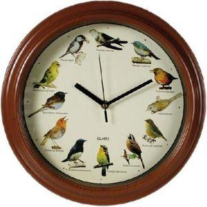 Horloge oiseaux achat vente horloge oiseaux pas cher cdiscount - Horloge murale design pas cher ...