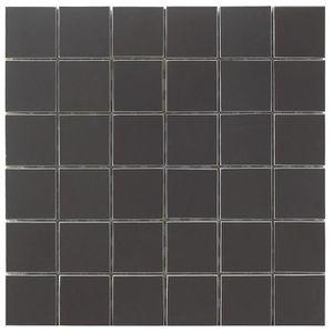 CARRELAGE - PAREMENT Mosaïque en carrelage - 30 x 30 cm - Noir