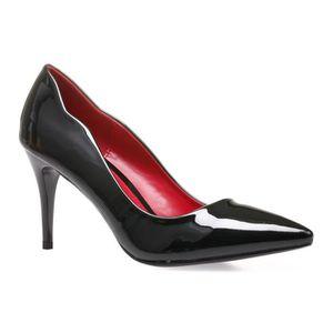 acheter populaire 2b1bc b8ee7 Escarpins noir semelle rouge - Achat / Vente pas cher