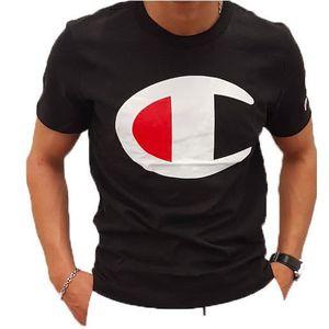 T-SHIRT T-shirt Champion 211984 Noir.