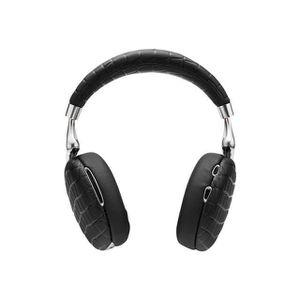 CASQUE - ÉCOUTEURS Casque Bluetooth PARROT Zik 3 noir croco