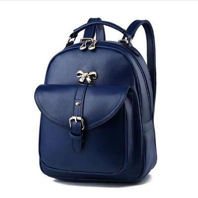 2018 sac à dos de la mode des femmes sacs à main en cuir bleu sac cuir femme Sacoche Femme qualité supérieure sac luxe cuir
