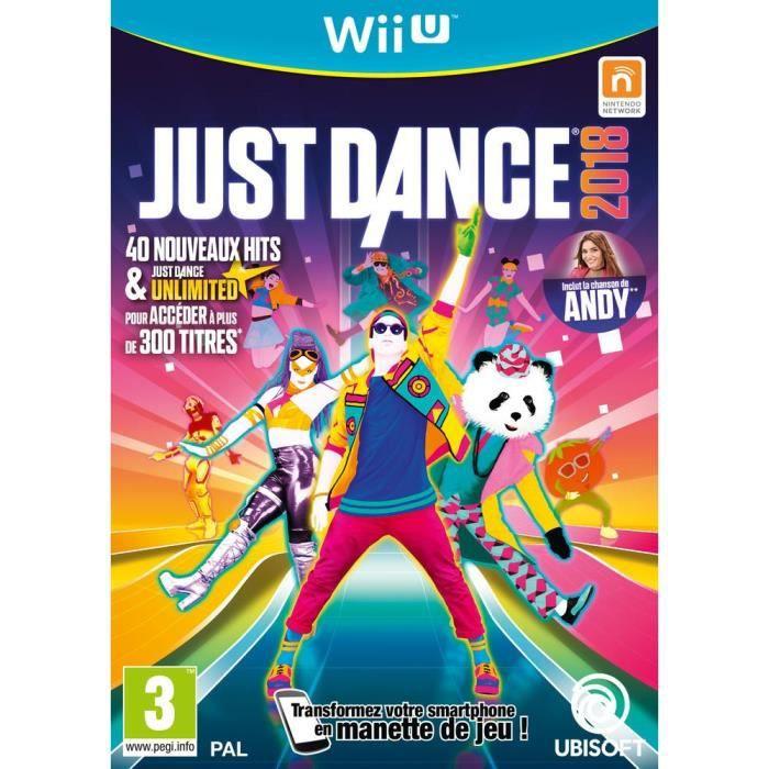 JEU WII U Just Dance 2018 Jeu Wii U