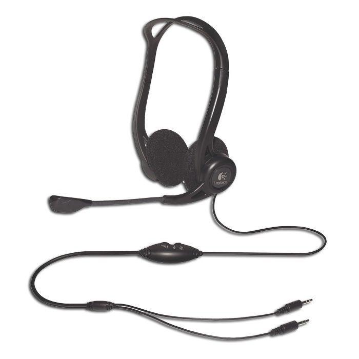 CASQUE  - MICROPHONE Logitech casque filaire PC - 860