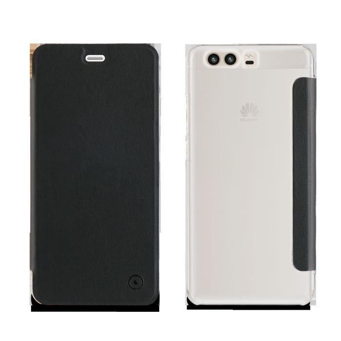 Muvit Etui Folio Noir Huawei P10 2017