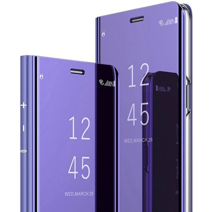 coque clear view samsung s9