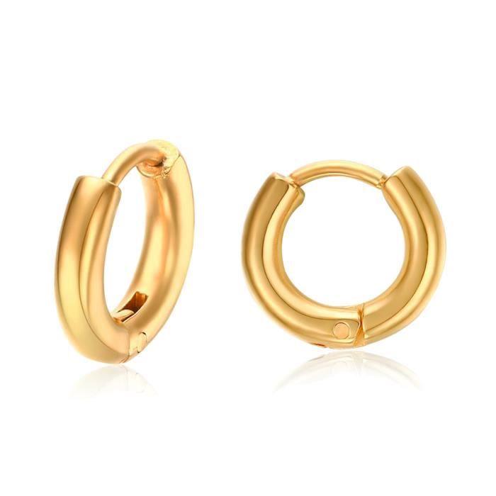 6569a5ca912 Boucle d oreille or anneau homme - Achat   Vente pas cher