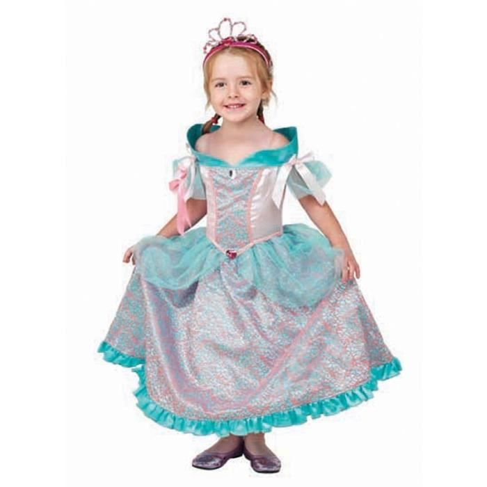 c813ca4299332 Déguisement de princesse   Robe de Princesse Emma   5 7 ans - Achat ...
