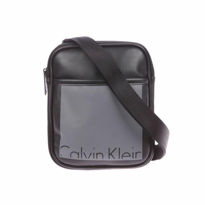80f1682b43 Calvin Klein Jeans - sacs et besaces Noir - Achat / Vente sacoche ...