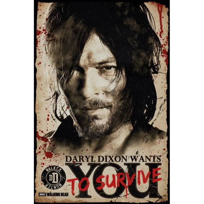 Dead Needs The Walking Poster Daryl You Dixon oBxWCrde