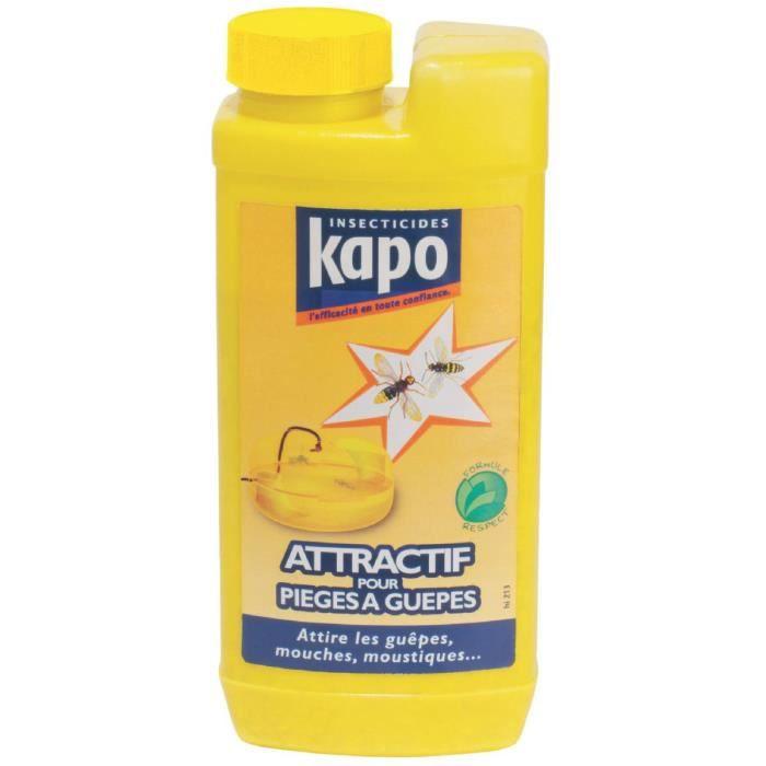 RÉPULSIF NUISIBLES MAISON Insecticide guêpes piège Kapo