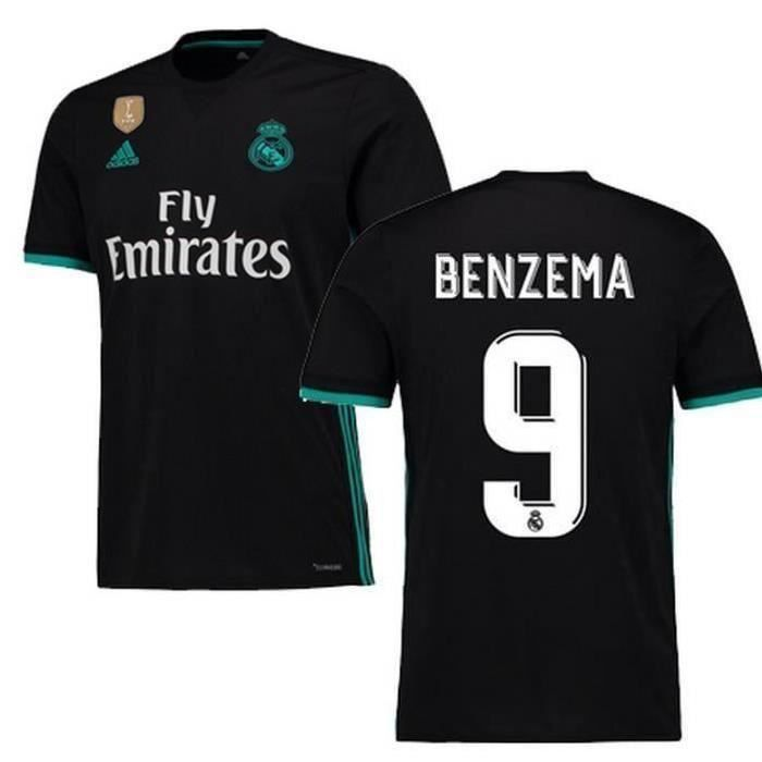 Maillot Domicile Real Madrid Benzema