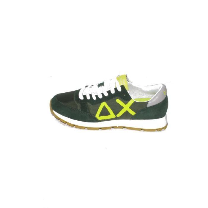 Ax Sun68 Baskets Homme Vert, 46
